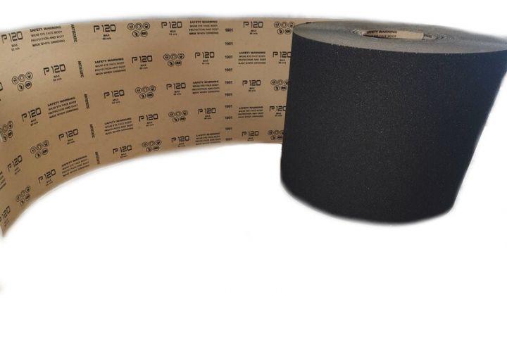 Rouleau abrasif appliqué, grain en carbure de silicium, sur papier