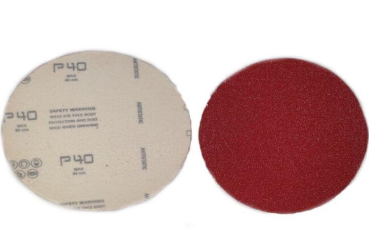 Disque abrasif sur velours velcro Ceramique