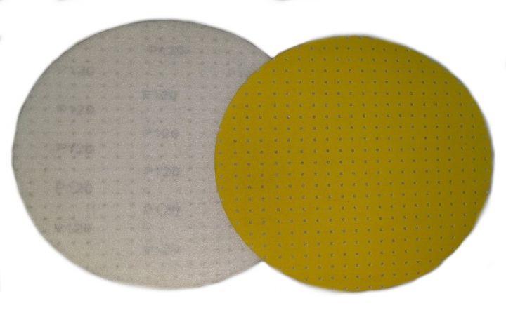 velcro / multi-perforés jaune 400MM